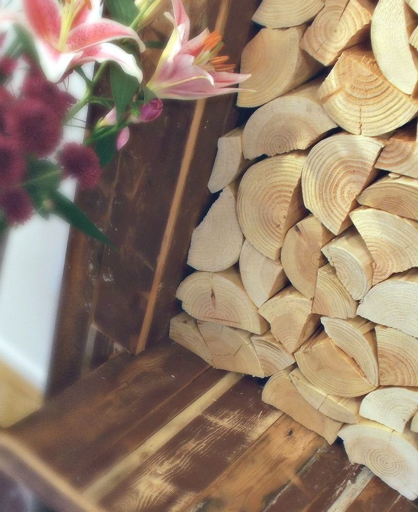 Decorative Logs - RUSTIC SPLIT STYLE